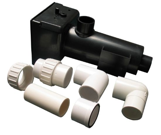 HEATER HOUSING KIT: HT PLASTIC HEATERS WITH PLUMBING