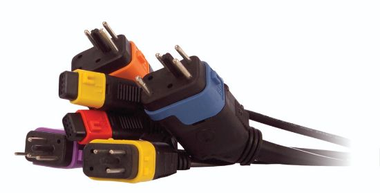IN.LINK PLUG SET: 5 PLUGS WITH COLORED CABLE KEYS 9920-101436