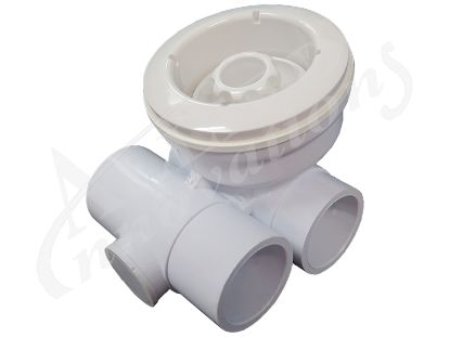 "JET ASSEMBLY: 3-1/4"" TS-III DIRECTIONAL NOZZLE, WHITE 23061-000-000"