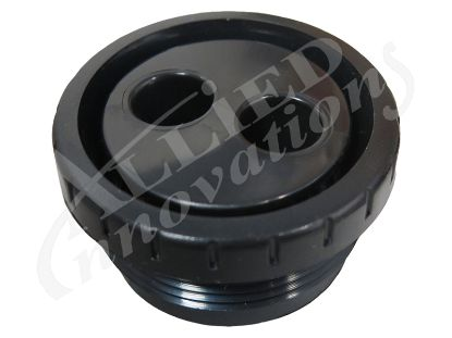 "JET INTERNAL: 1-1/2"" MPT ROTATING EYEBALL ASSEMBLY BLACK 212-9171"