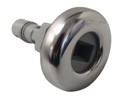 "JET INTERNAL: 2"" FLUIDIX EURO JETFACE WITH STAINLESS STEEL ESCUTCHEON 6540-500"