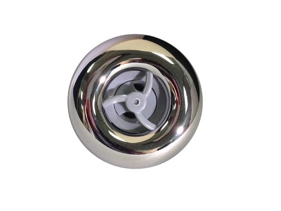 "JET INTERNAL: 2"" SPINNING DIRECTIONAL LARGE FACE STD GRAY/SS RD201-1427S"