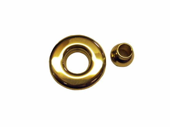 JET PART: SLIMLINE ESCUTCHEON ASSEMBLY POLISHED BRASS 10-3955M PB
