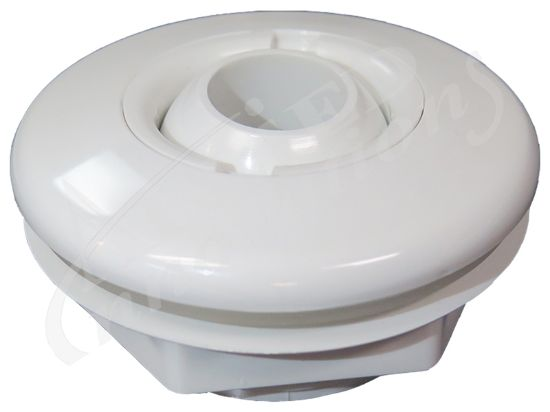 JET PART:  STANDARD FITTING WITH NUT 10-3100WHT