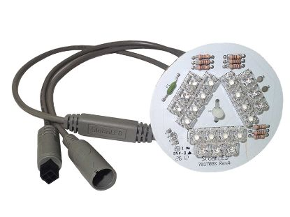 "LED LIGHT ASSEMBLY: 21 LED 5"" DAISY CHAIN WITH STAND OFF 701570-21-DLS0"