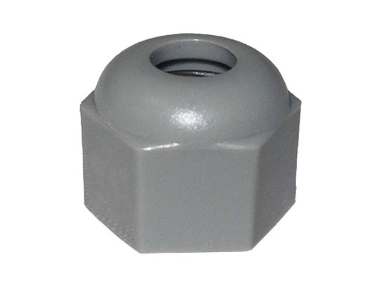 LED LIGHT PART: COMPRESSION NUT HEX DOME 3/8-16 (2B) 400587