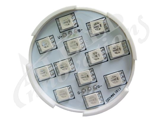 LED LIGHT: STARBURST 28 LED SEQUENCING 12V AC, SMD, 3-IN-1 STRBRST 28S-3