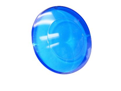"LIGHT PART: LENS 2-1/2"" BLUE P0150"