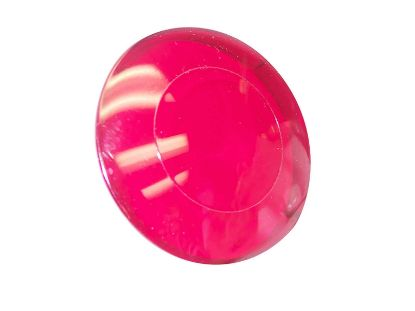 "LIGHT PART: LENS 2-1/2"" RED P0110"
