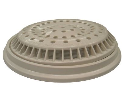 "MAIN DRAIN: 8"" ROUND ANTI-VORTEX WHITE 640-2310V"