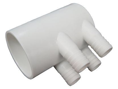 "MANIFOLD: 3/4"" BARB, 4-PORT, DEAD END SLIP WM2KSKB-4"
