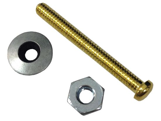 MASS SENSOR: BRASS SCREW AND HEX NUT FOR WATER LEVEL CE-WD-SCREW-BM