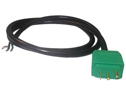"MJJ PLUG: LIGHT 18/3 48"" GREEN SS2PSA-103L-1-C"