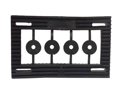 MOTOR MOUNT BASE: 48 FRAME RUBBER  SELF-ALIGNING 319-0019