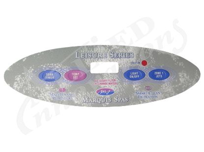 OVERLAY: 4 BUTTON LEISURE SERIES BY MARQUIS SPAS 650-0490