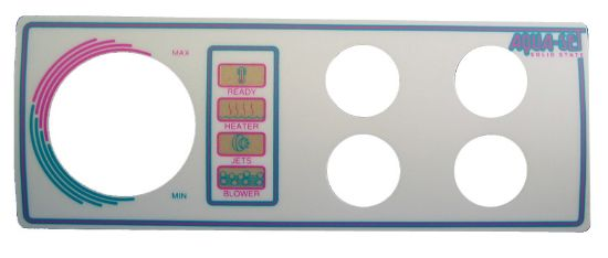 OVERLAY: AQUA-SET - 4001/4002 - 4 BUTTON