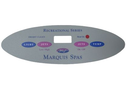 OVERLAY: LEXAN PANEL MARQUIS SPA 650-0483