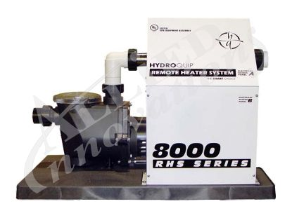 PACK: BP2000 WITH 11.0KW HEATER, TOPSIDE, 2.0HP PUMP AND CORDS ES8850-B