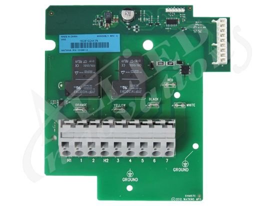 PCB: IQ-2020 HEATER RELAY BOARD 77118