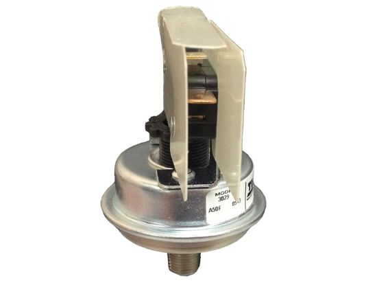 "PRESSURE SWITCH: 25AMP SPST 1/8"" NPT 1-5PSI METAL 3029"