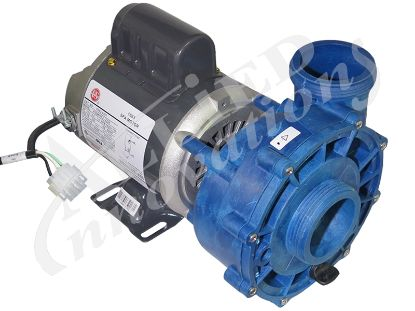 PUMP: 1/15HP 230V 1-SPEED 48 FRAME XP2 CAL SPAS WITH AMP PLUG 06093000-2000