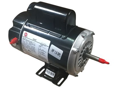 PUMP MOTOR: 1.0HP 115V 2-SPEED 48 FRAME THRUBOLT BN37