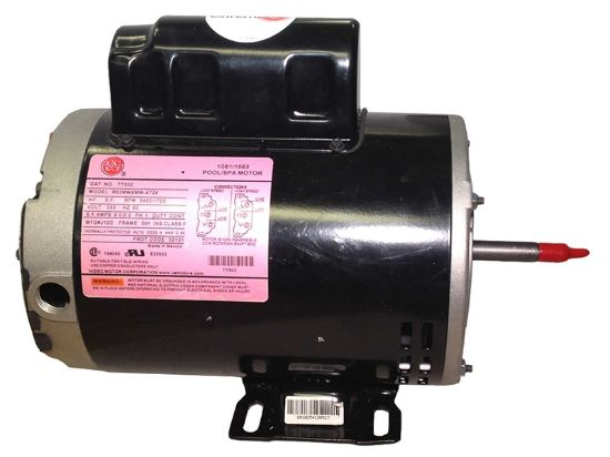 "PUMP MOTOR: 1.5HP 230V 2-SPEED 56 FRAME THRU BOLT 6.5"" TT502"