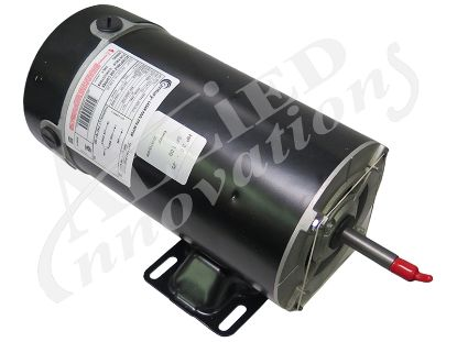 PUMP MOTOR: 2.0HP 230V 2-SPEED 48 FRAME THRUBOLT BN51