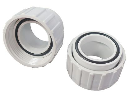 "PUMP UNION: 1-1/2"" UNIBODY HALF FEMALE BUTTRESS THREAD - 2 PACK 0602-15"