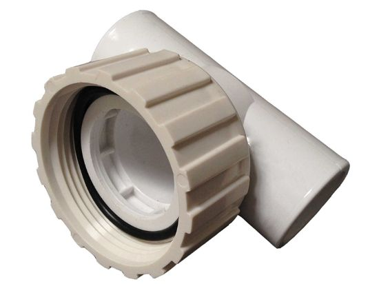 "PUMP UNION: LOW PROFILE TEE  1"" X 1"" X 1"" SLIP AND O-RING 400-4200"