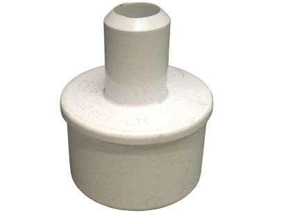 "PVC ADAPTER: 1-1/2"" SPIGOT X 3/4"" SMOOTH BARB 413-4360"