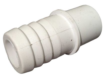 "PVC ADAPTER: 1/2"" SPIGOT X 3/4"" RIBBED BARB 425-1000"