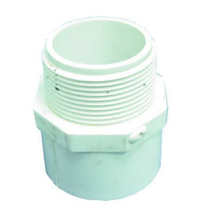 "PVC ADAPTER: MALE 1-1/2"" SLIP X 1-1/2"" MIPT 436-015"