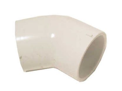 "PVC FITTING: 45° ELBOW 1/2"" SLIP X 1/2"" SLIP 417-005"