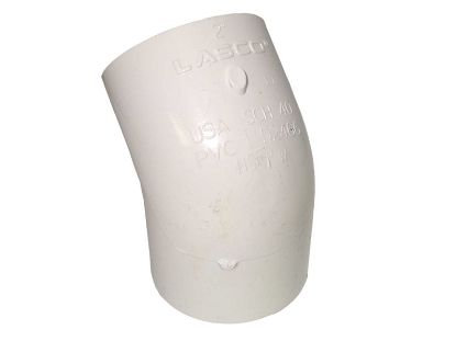 "PVC FITTING: 45° ELBOW 2"" SLIP X 2"" SLIP 417-020"