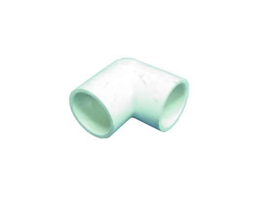 "PVC FITTING: 90° ELBOW 1"" SLIP X 1"" SLIP 406-010"