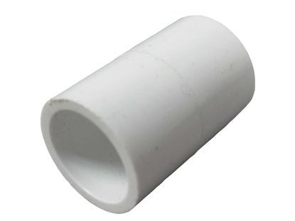 "PVC FITTING: COUPLING 1/2"" SLIP X 1/2"" SLIP 429-005"
