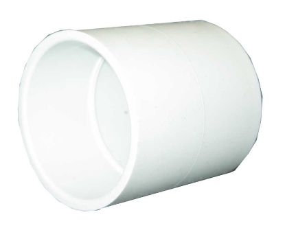 "PVC FITTING: COUPLING 1"" SLIP X 1"" SLIP 429-010"