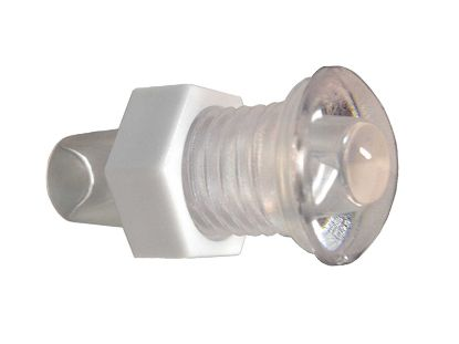 LIGHT PART: MINI LED POL HOUSING, LENS, NUT AND O-RING RD631-1050P