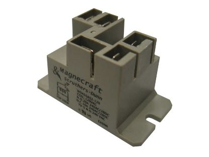 RELAY: 120VAC SPDT 20AMP T91 W9AS5A52-120