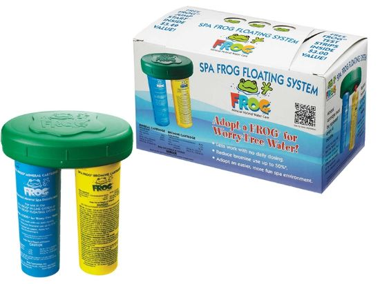 SPA FROG: FLOATING SYSTEM WITH 4-WAY TEST STRIPS 01-14-3883