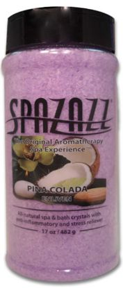 SPA/BATH CRYSTAL: PINA COLADA 17OZ 105