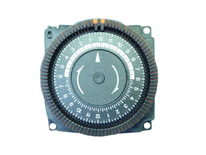 TIME CLOCK: 220V, SPST, 24 HOUR, 4 LUG TA4065