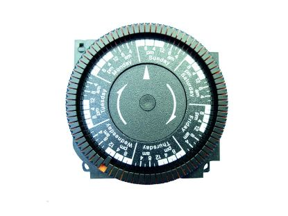 TIME CLOCK: 220V, SPST, 7 DAY, 4 LUG TA4066