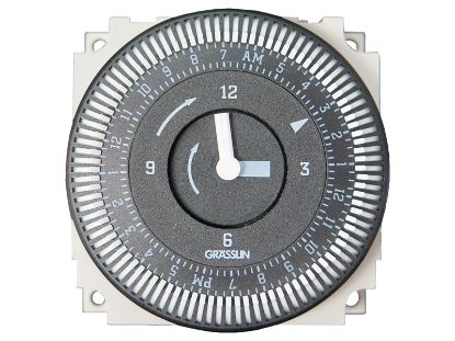 TIME CLOCK: 24V, SPDT, 60HZ, 24 HOUR FM-1/STUZ-24V