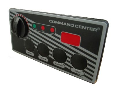 TOPSIDE: COMMAND CENTER - 4 BUTTON - 120V - 10' - DIGITAL DISPLAY CC4D-120-10I-00