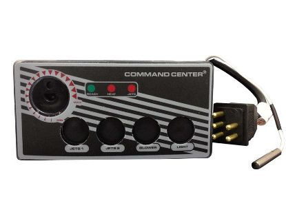 TOPSIDE: COMMAND CENTER - 4 BUTTON - 120V - 10' - WITHOUT DIGITAL DISPLAY CC4-120-10I-00