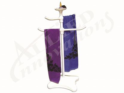 TOWEL TREE WITH TOP TRAY Z225