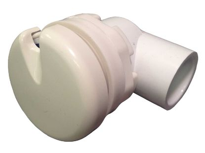 "VENTURI AIR CONTROL: 1/2"" 90° ELBOW SLIP CLOSE FIT BISCUIT 660-3280-BC"