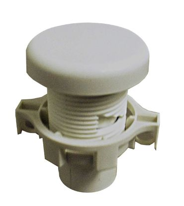 "VENTURI AIR CONTROL: 1/2"" SLIP, FUTURA SMOOTH, WHITE 2005014"